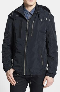 Anorak Jacket with Leather Trim by LaMarque in Mortdecai