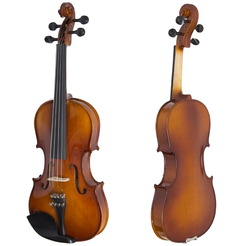 Solidwood Ebony Fitted Violin by Cecilio in Begin Again