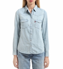 Western Style Cotton Denim Shirt by Levi's Red Tab in American Horror Story