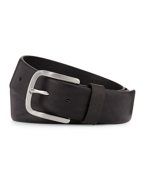 Sun Leather-Inlay-Buckle Belt by Hugo Boss in Kill Bill: Vol. 1