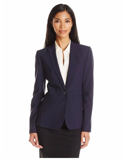 Women's Darcy Wool-Blend Blazer by Elie Tahari in Billions - Season 1 Episode 8