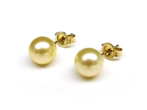Cultured Pearl Stud Earrings by ThePearlExchange in Entourage