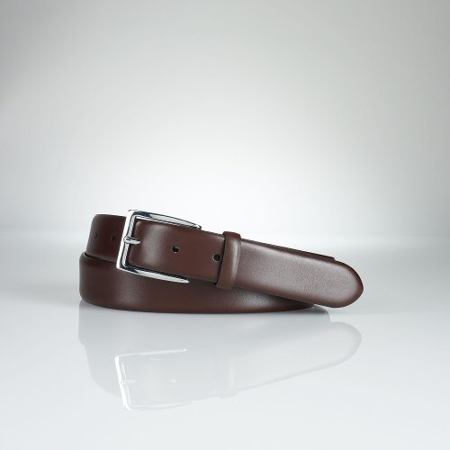 Douglas Calfskin Buckle Belt by Ralph Lauren in Need for Speed