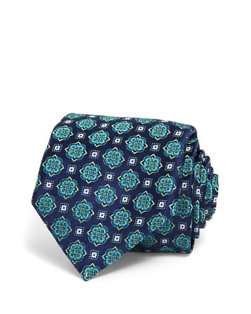 Floret Medallion Classic Tie by Canali in Life