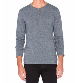 Long Sleeve Grandad Tee by Scotch & Soda in Quantico