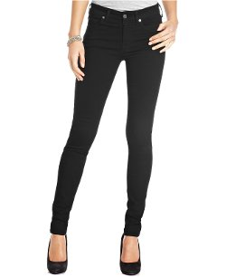Second-Skin Slim Illusion Elasticity Black Jeans by 7 For All Mankind Jeans in Crazy, Stupid, Love.