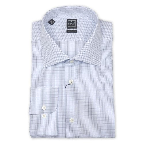 Men's Long Sleeve Dress Shirt by Ike Behar in Paddington