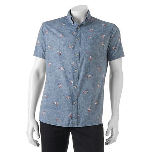 Print Button-Down Shirt by Urban Pipeline in The Bachelorette - Season 12 Episode 4