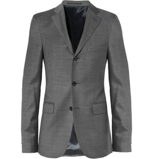 DRIFTER SLIM-FIT WOOL SUIT JACKET by ACNE STUDIOS in About Last Night