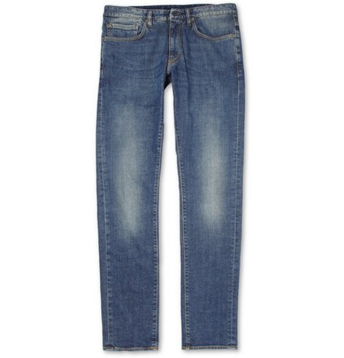 Slim-Fit Washed Denim Jeans by Incotex in Furious 7