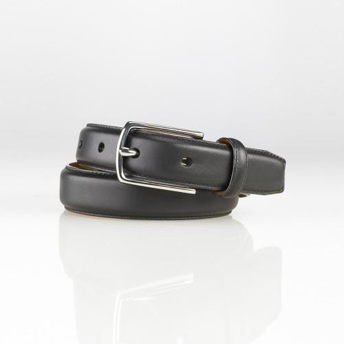 Calfskin Belt by Ralph Lauren in Unbroken