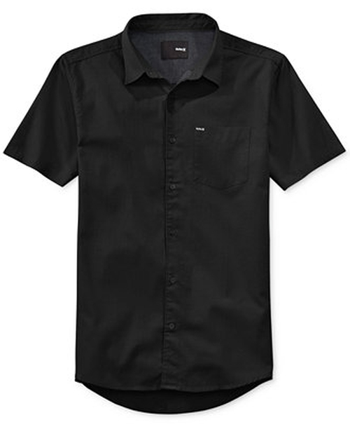 One and Only Short-Sleeve Shirt by Hurley in Straight Outta Compton