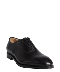 Leather 'Domino' Tooled Cap Toe Oxford Shoes by Salvatore Ferragamo in Suits