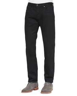 Black-Rinse Selvedge Denim Jeans by Vince in Ouija