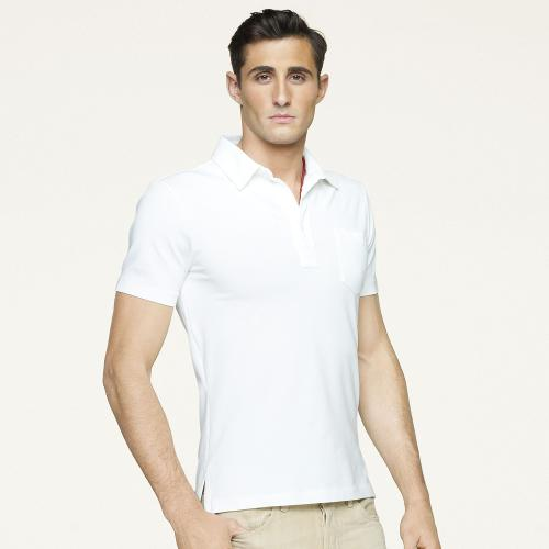 Stretch Mesh Polo by Ralph Lauren in Yves Saint Laurent