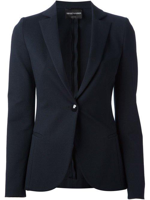 Tailored Blazer by Emporio Armani in Blackhat
