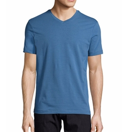 Jersey V-Neck T-Shirt by Armani Collezioni in The Fate of the Furious