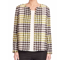 Windsor Plaid Dani Jacket by Lafayette 148 New York in The Good Fight