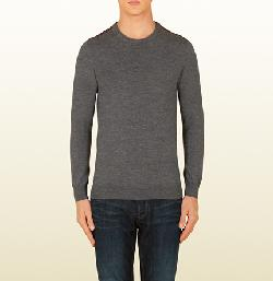 Wool Long Sleeve Shirt by GUCCI in Transcendence