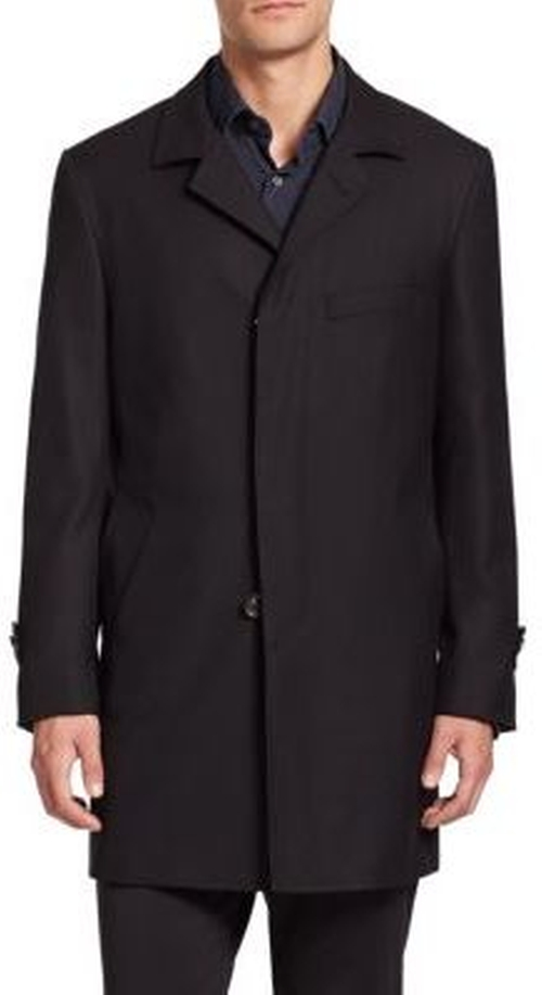 Essential Wool Coat by Saks Fifth Avenue Collection in Power