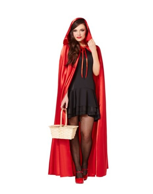 Satin Hooded Cape by Spirit Halloween in Scream Queens - Season 1 Episode 1