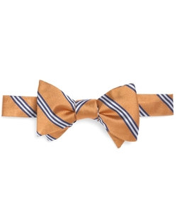 Stripe Bow Tie by Brooks Brothers in The Flash
