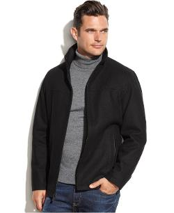 Wool-Blend Melton Jacket by Perry Ellis in New Year's Eve