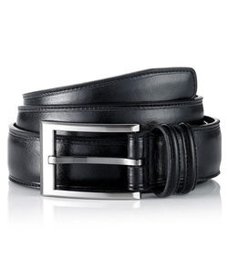 Stitched Leather Dress Belt by Geoffrey Beene in Straight Outta Compton
