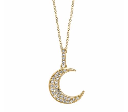 Moon Pendant Necklace by EffyDoro in Empire - Season 2 Episode 17