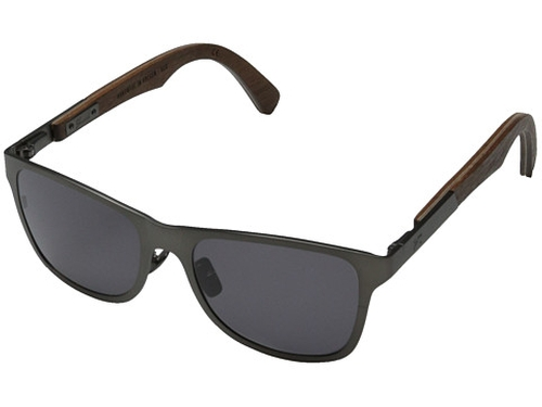 Canby Titanium Sunglasses by Shwood in American Ultra