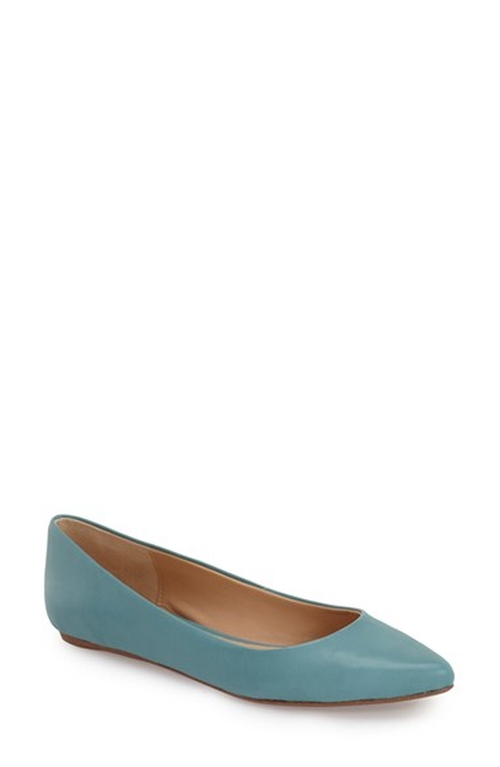 'Kitty Vii' Pointy Toe Flat Shoes by Joe's in New Girl