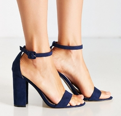 Thin Ankle Strap Heel Sandals by Urban Outfitters in Riverdale