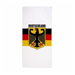 Germany Beach Towel by CafePress in Flaked