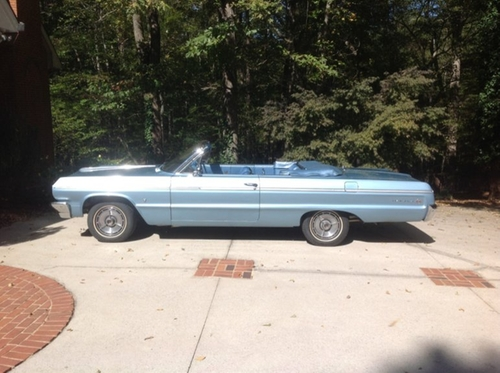 1964 Impala SS Convertible by Chevrolet in Straight Outta Compton