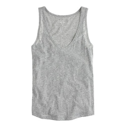 Vintage Cotton Tank Top by J. Crew in While We're Young