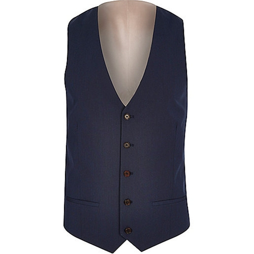 Five Button Vest by River Island in The Infiltrator
