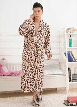 Leopard Print Robe by Fortuning's JDS in The Departed
