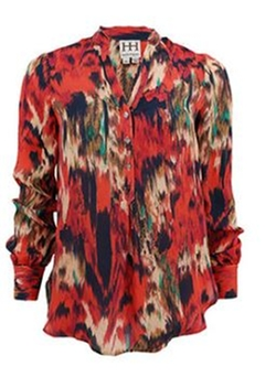 Ikat Blouse by Hautie Hippie in Jessica Jones