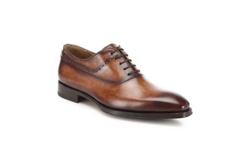 Magnanni Leather Oxford Shoes by Saks Fifth Avenue Collection in Elementary - Season 5 Episode 1