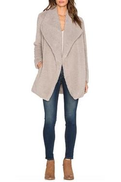 Daylin Faux Fur Coat by BB Dakota in The Good Wife