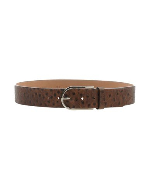 Crocodile Print Belt by Orciani in Twilight
