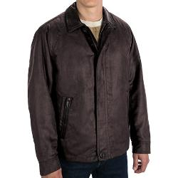 Suede Twill Bomber Jacket by Rainforest in Couple's Retreat