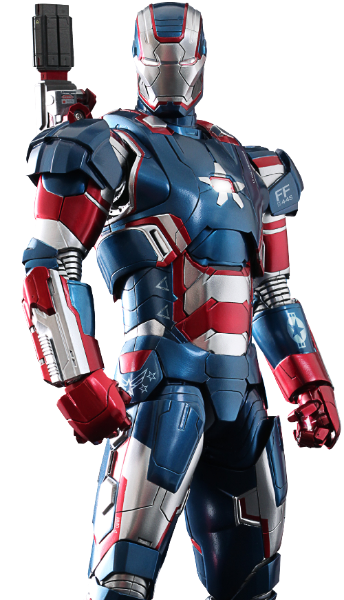 Iron Patriot Suit by Ryan Meinerding (Concept Artist) in Iron Man 3