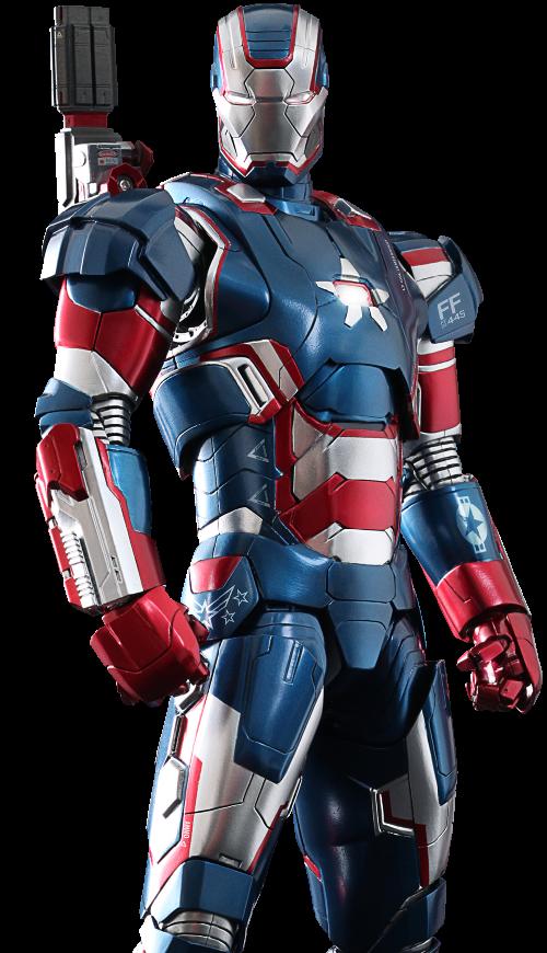 Iron Patriot Suit by Ryan Meinerding (Concept Artist) in Iron Man 3
