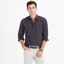 Slim Vintage Oxford Shirt In Gingham by J.Crew in Modern Family