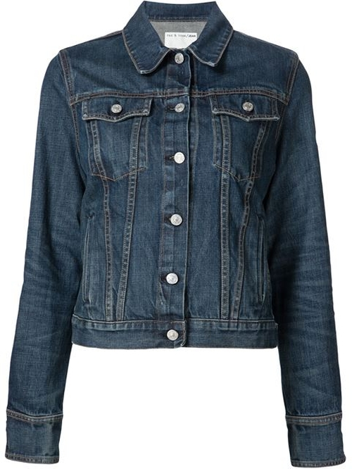 Denim Jacket by Rag & Bone /Jean in Pretty Little Liars - Season 7 Preview