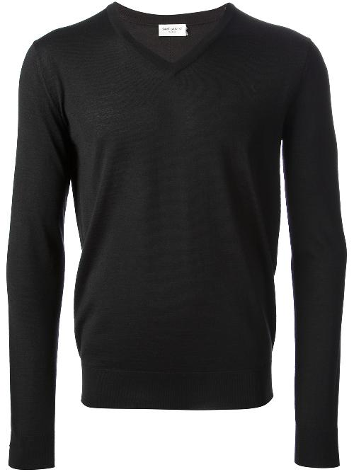 regular fit sweater by SAINT LAURENT in Captain America: The Winter Soldier