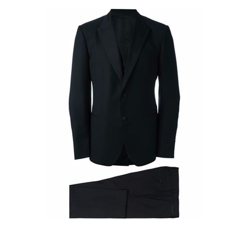 Three Piece Tuxedo Suit by Dolce & Gabbana in Justin Timberlake and the Tennessee Kids