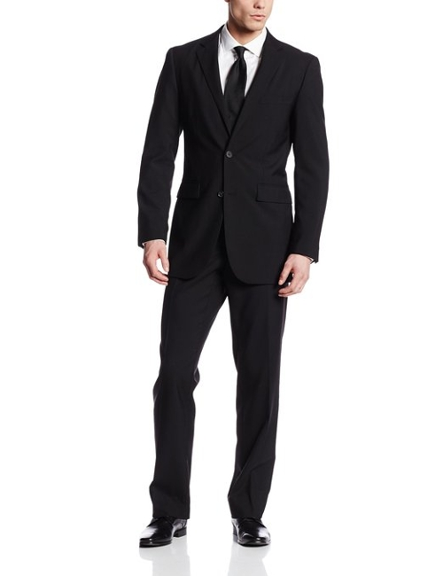 Two-Button Center-Vent Suit by Nautica in Cut Bank