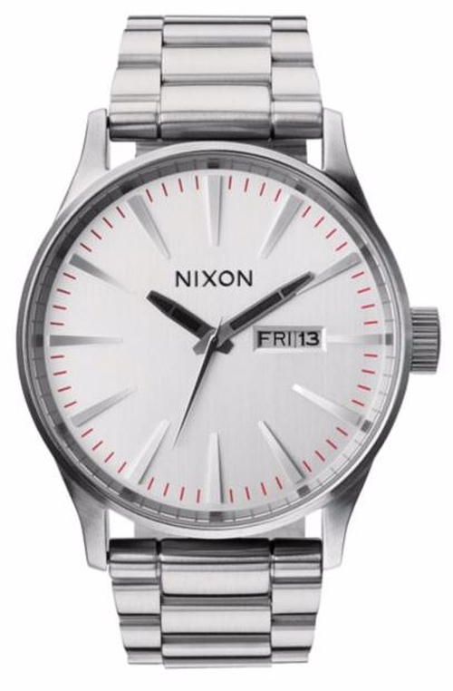 Sentry Stainless Steel Watch by Nixon in A Walk in the Woods